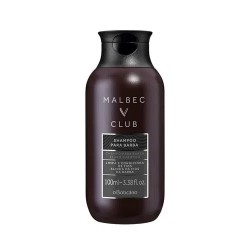 Malbec Club Champú Para Barba, 100 ml
